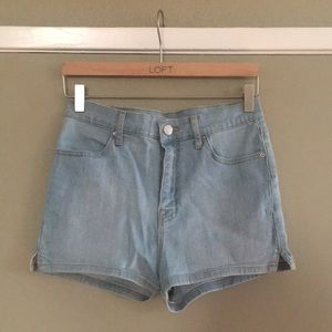 NWOT BDG pinup super high rise shorts